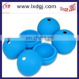 Sphere Ice Mold/Makes 4 Balls/Silicone Ice Ball Tray