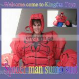 Spider man sumo suit