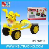 Hot items free wheel plastic baby cars for kids