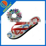 new DIY printing cheap eva+pvc unisex filp flop, beach slipper,promotional gifts