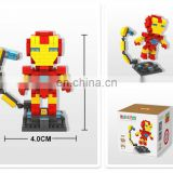 Ironman DIY Building Blocks Mini Diamond Set Best Gift for Child