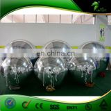 Glitter 3 Ball Pool Coins, Mirror Ball/ Giant Inflatable, Silver Mirror Balloon for Sale