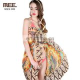 summer women sexy deep v bikini cover up factory swimsuit euro beach dress swimwear