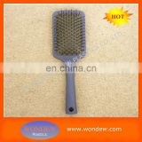 Plastic paddle hairbrush wholesale / Paddle wholesale hair brush