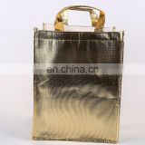 gold aluminium cooler bag