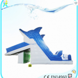 Quick-set Above Ground Metal Swimming Pool/Outdoor Metal Frame Swimming Pool With Dolphin Slide