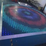 Guangzhou supplier led dancing tile rgb video dance floor