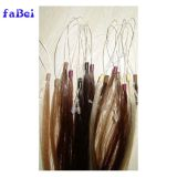 Double Drawn Full Cuticle U Tip Prebonded Hair Blond Keratin Tipped Human Hair Extension