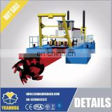 mining dredging ship with hydro motor