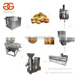 Easy Operation Dry Almond Walnut Chili Cocoa Bean Paste Peeling Production Line Peanut Butter Making Machine