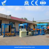 Auto brick making machine concrete block molding machine QT6-15 block making machine
