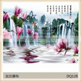Hotel printing ceramic wall tile Corridor Gallery Promotion AAA Grade Floor Tile Lobby Lounge rough slate tile