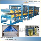 Automatic Sandwich Panel Roll Rorming Machine/EPS Cement Sandwich Steel Panel Production Line