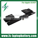 "74wh New Original laptop-batteri A1437 for Apple MacBook Pro 13"" Retina A1425 2012 2013 A1437 bateria para laptop"