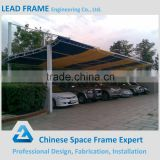 Steel structure shed for car parking canopy