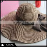 Wholesale Summer Beach Floppy Hat Matador Straw Hat