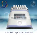 High quality laser/ lipolaser lipolysis laser device slim machine
