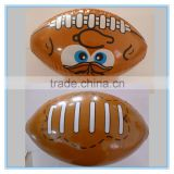Inflatable American football, pvc American football beach ball