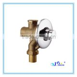 High quality Brass body Chrome Plate Finish WC Flush valve