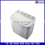 5kg mini twin tub washing machine with CB SASO EER