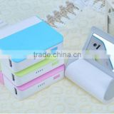 fashion mirror power bank review with mobile stand for TV watching xh-401