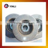 T27 Flat 115x22mm high quality coated abrasive flap disc stock removal flap disc making machine