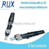 FTTH sc upc optic fiber fast connector