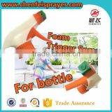 High quality plastic hand wash bottle pump pump for plastic bottle foam trigger sprayer pump in any color can custom