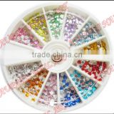 1.5mm/2mm/3mm/4mm/5mm nail art rhinestone wheel For Nail Decoration Wholesale 5915