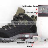 Rechargeable Sport/Ski/Cycling CE/ROHS Durable electric Heated/heating shoe/shoes for Snowmotor/fishing/Hunting