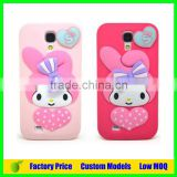 Melody Silicone 3d phone case mobile cover for Samsung galaxy S3 i9300 cell phone case back cover