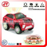 Battery operated musical dancing toy car