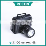 IP65 alloy material 3w Led rechargeable explosion proof mining headlamp