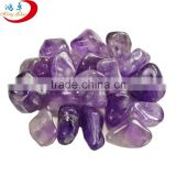 Natural Amethyst Tumbled Stone for healing meditation and decoration