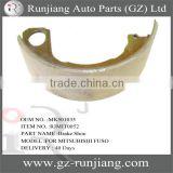 MK501035 brake shoe use for mitsubishi fuso canter 94-04 series truck parts