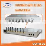 Good Price cordless VoIP phone Sip,8 Channel GSM/CDMA VoIP Gateway for Call Terminal,GOIP 8