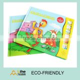 Kids Music Book with a Sound Module Sound Pad for Kids Learning with Colorful Story