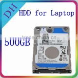 Factory hot selling laptop hdd 2.5'' sata hard disk notebook 3-year warranty 500 gb 2.5 drive