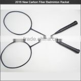 HOT New model! OEM painting Super light weight 75 g Strong badminton racket carbon fiber material