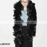 Full Fluffy coque feather Boa LZBYK33