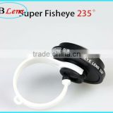 New products on china market! Universal Clip 235 Degree super Fisheye mobile camera lens for mobile phone,phone accessory