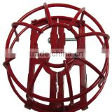 Fire Sprinkler Head guard 2pcs Univ /Fire Sprinkler Guards, Steel with Red and Chrome Finished