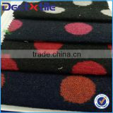 Wool polyester fabric for winter coat in China factory