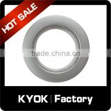 KYOK Decorative Drapery Electroplating Curtain Clip Rings,28mm Interior Diameter Double Single Curtain Accessories