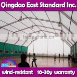 East Standard custom made prefabricated steel aircraft hangar project with remarkable wind load
