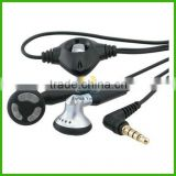 Hot sale earplug earphone for phone blackberry 8300