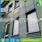 sunshading rolling electric window shutters exterior