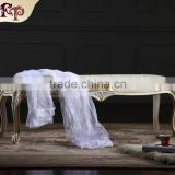 Europe French Style Mirrored Bedroom Furniture - baroque hand craft antique bed end bench