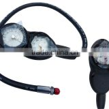 Scuba diving digital consolated gauges of pressure gauge,depth gauge and compass of diving accessory equipment