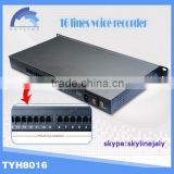 New 16 line phone voice recorder automatic voice recorder,phone voice recorder,hidden voice recorder